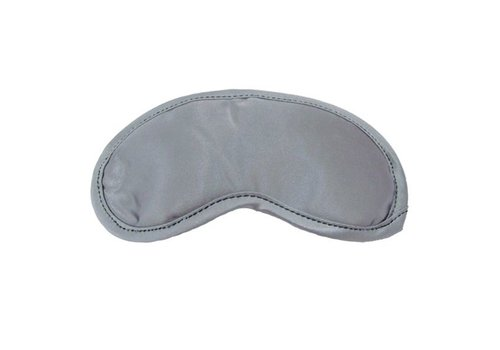 S&M - Satijnen Blinddoek Grijs