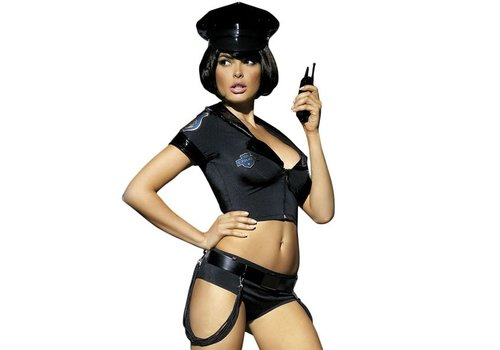 Obsessive - Politie Set Kostuum S/M