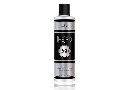 Sensuva - HE(RO) 260 Male Pheromone Scheercrème 236 ml
