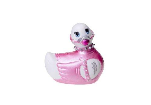 I Rub My Duckie | Bondage - Travel Size (Wit/Roze)