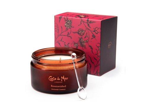 Coco de Mer - Roseravished Massage Candle 200 gr