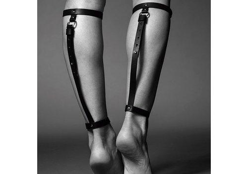 Bijoux Indiscrets - Maze Back Leg Garter Zwart