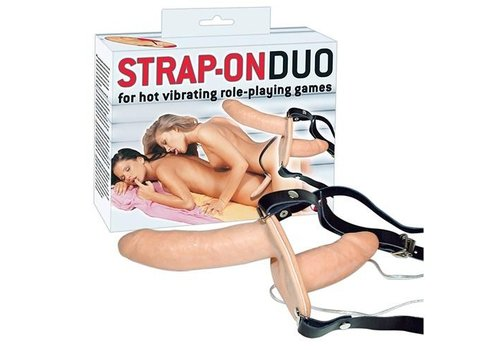 Vibrerende Duo Strap-On