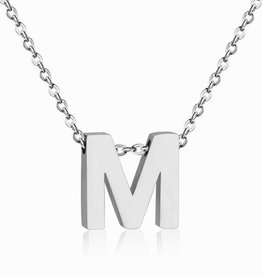 By Moise INITIAL KETTING ZILVER