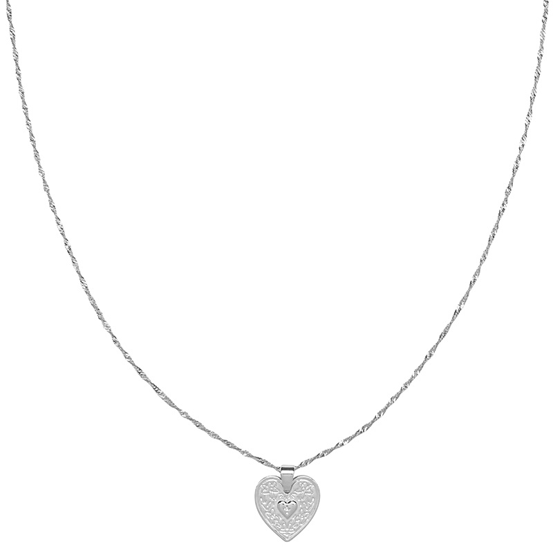 KETTING LOVE ME SILVER