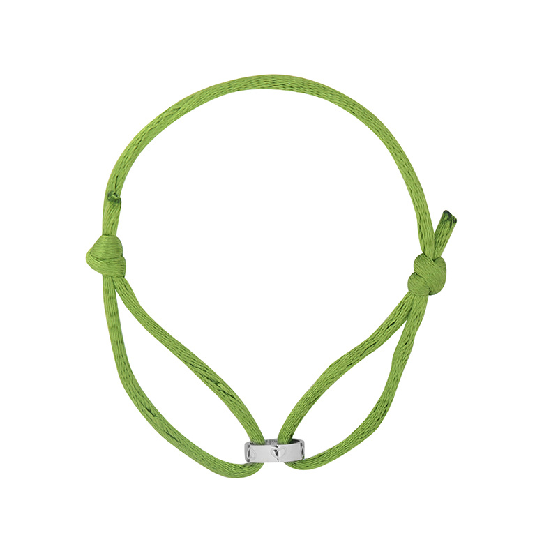 By Moise ARMBAND CIRCLE OF LOVE GROEN