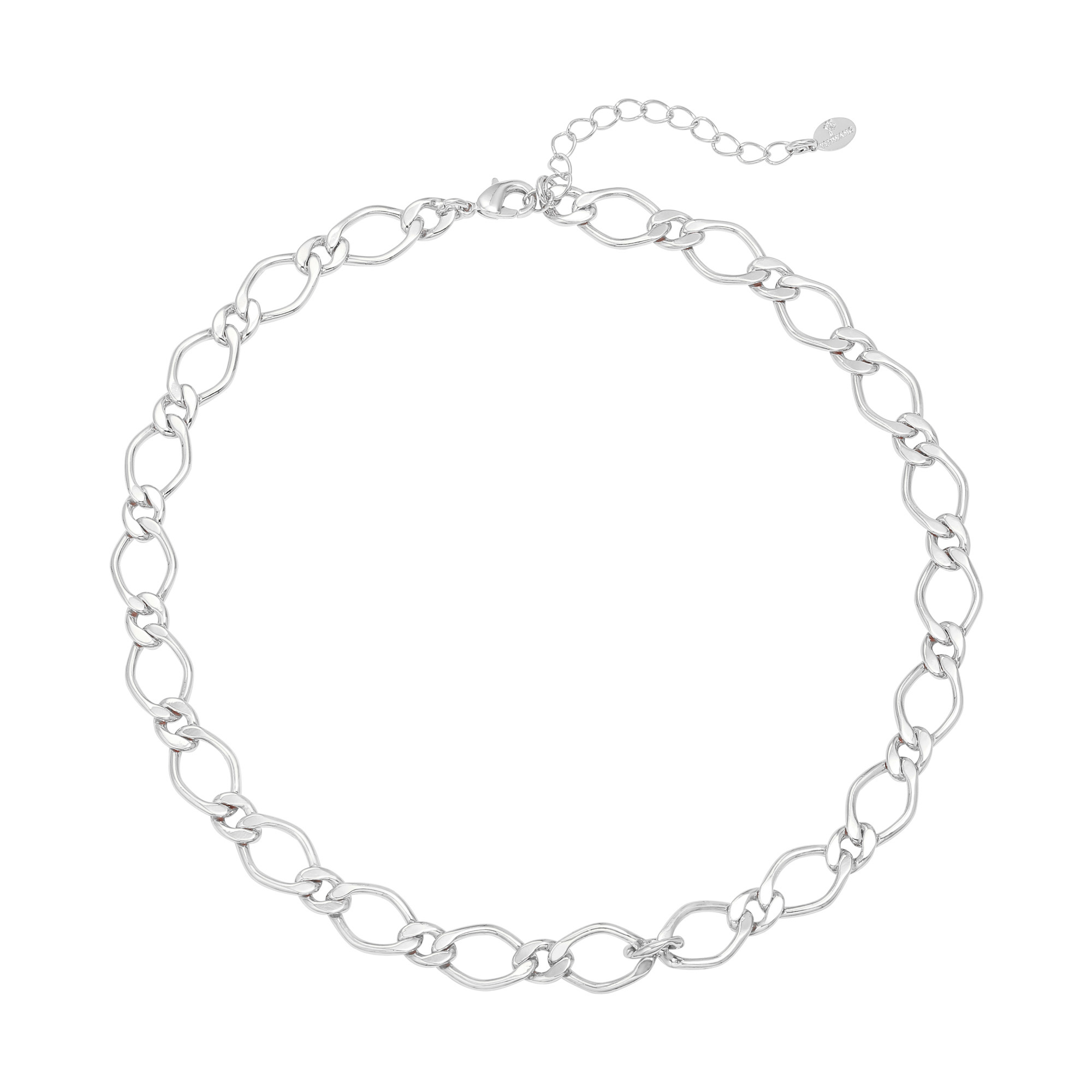 By Moise KETTING CHUNKY CHAIN ZILVER