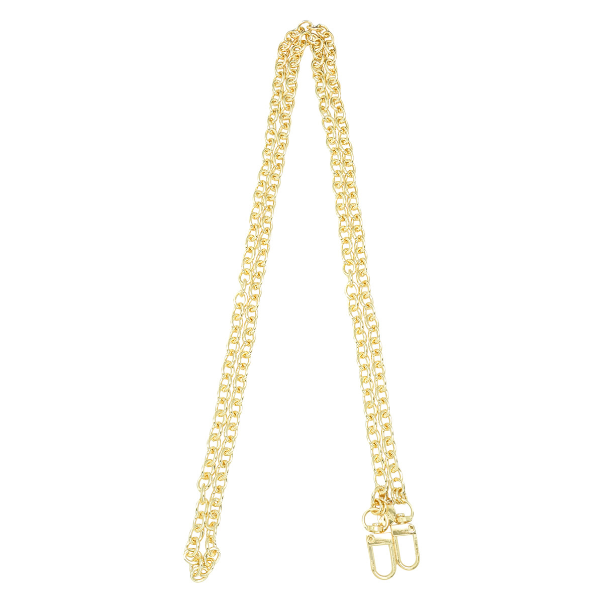 By Moise Phone necklace gold chain