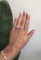 By Moise Moonstone Signet ring silver