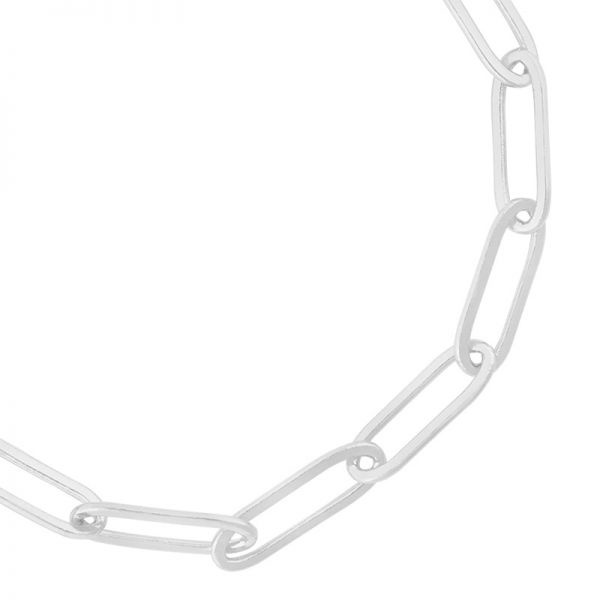 By Moise ARMBAND STUCK IN CHAINS ZILVER
