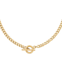 By Moise BIG CHAIN NECKLACE GOLD