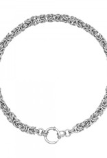 By Moise KETTING CHAIN TIANA ZILVER