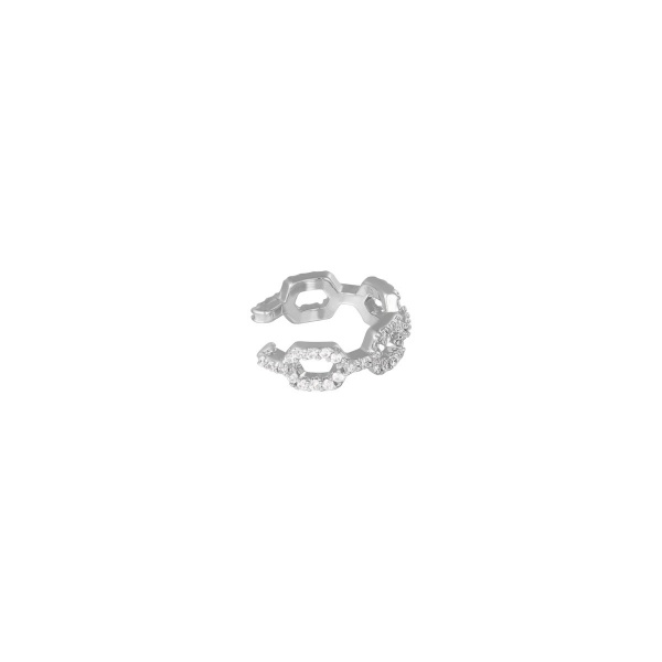 By Moise EARCUFF DIAMOND LINKED