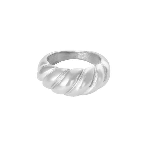 By Moise RING BAGUETTE ZILVER