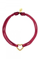 By Moise ARMBAND SATIN HEART ROOD