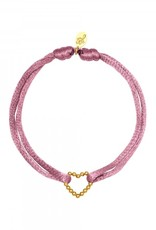 By Moise ARMBAND SATIN HEART PAARS