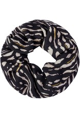 By Moise SCRUNCHIE ANIMAL FEVER ZWART