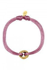 By Moise ARMBAND SATIN KNOT PAARS