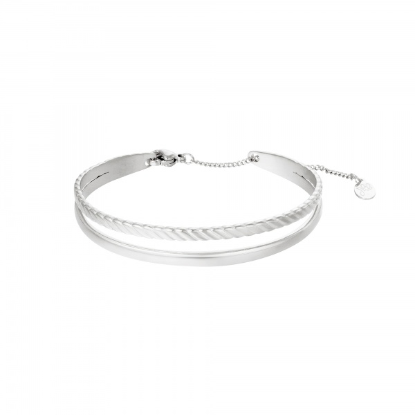 By Moise ARMBAND SOPHISTICATED ZILVER