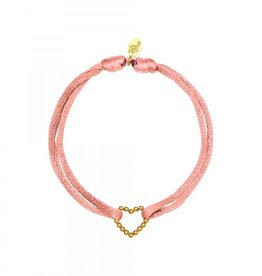 By Moise ARMBAND SATIN HEART LICHTROZE