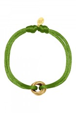 By Moise ARMBAND SATIN KNOT OLIJF