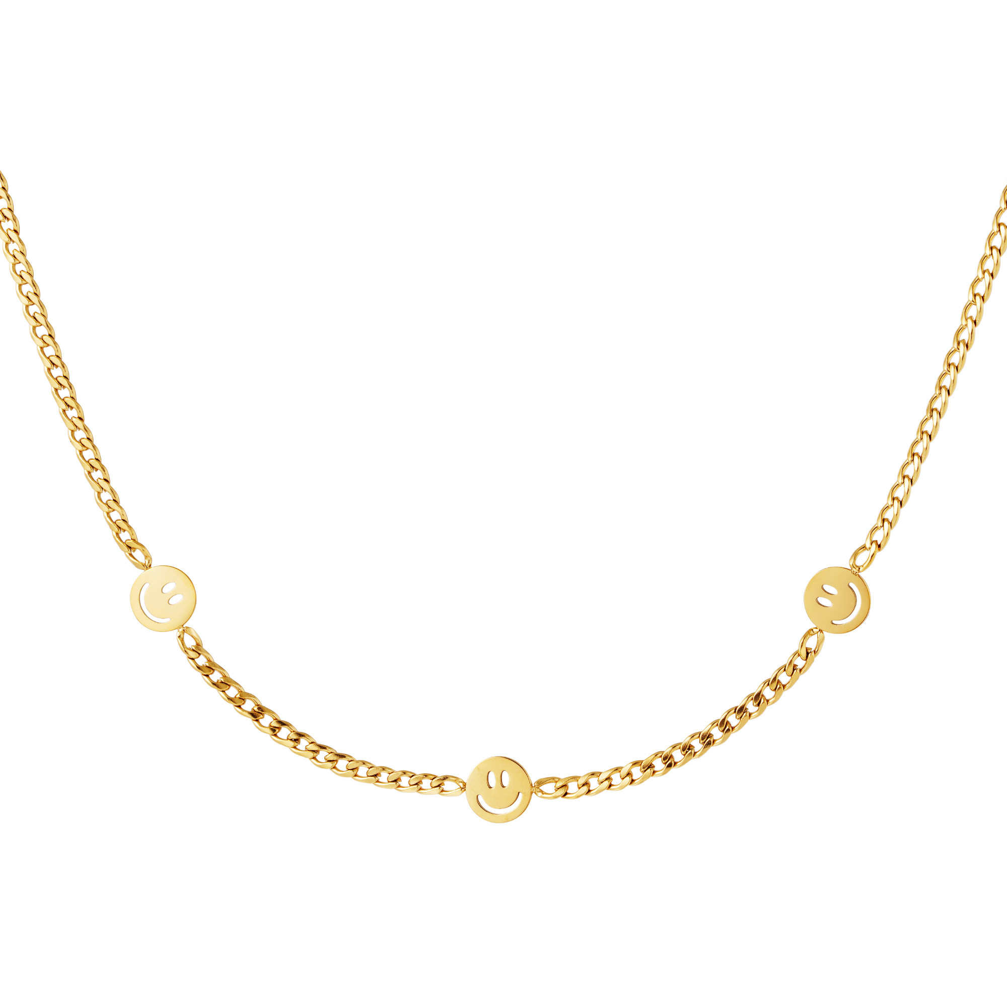By Moise KETTING 3 SMILEYS GOUD