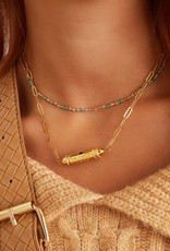 By Moise KETTING BULLET BEAT LOVE AMOUR ZILVER