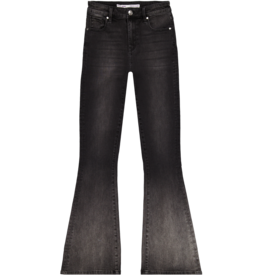 By Moise JEANS SUNRISE FLARE BLACK STONE