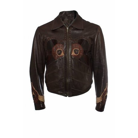 Gucci, Leather jacket size 52 it