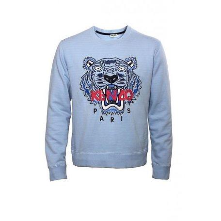 Kenzo, Lichtblauw, trui, maat XL