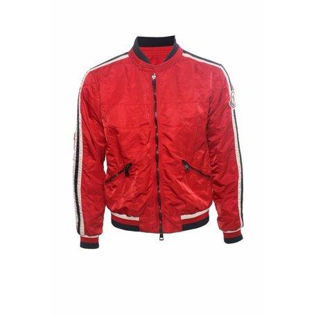 Moncler, Rode jas, maat L
