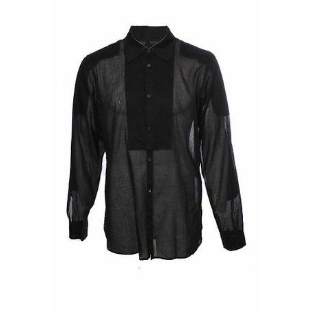Prada, Zwart overhemd, maat XL
