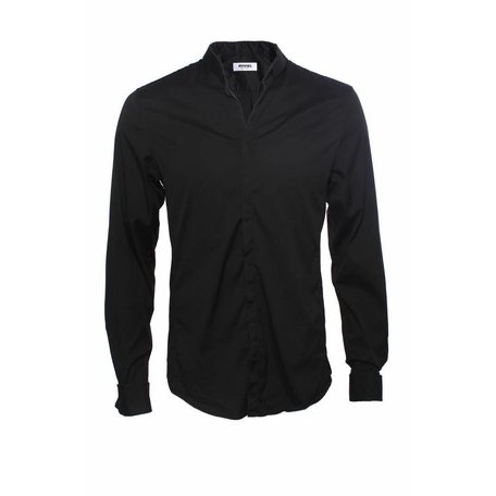 Rykiel Homme, Zwart overhemd, maat M