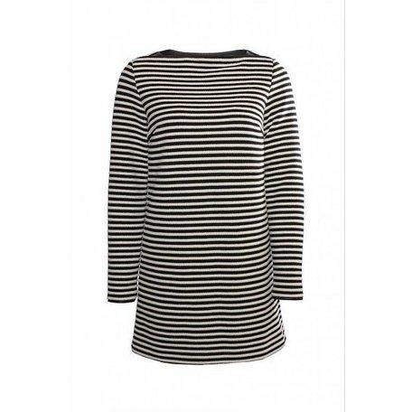 Zwart/witte jurk, maat 36