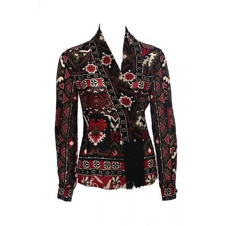 Gucci, Multi coloured, blouse, maat XS/S