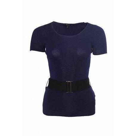 Gucci, Dark blue top, size S