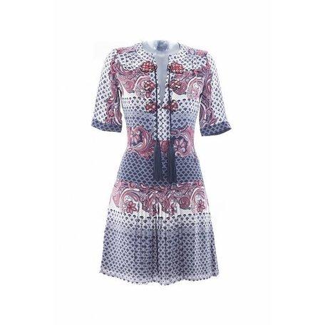 Gucci, Multi kleurig jurk, maat 38