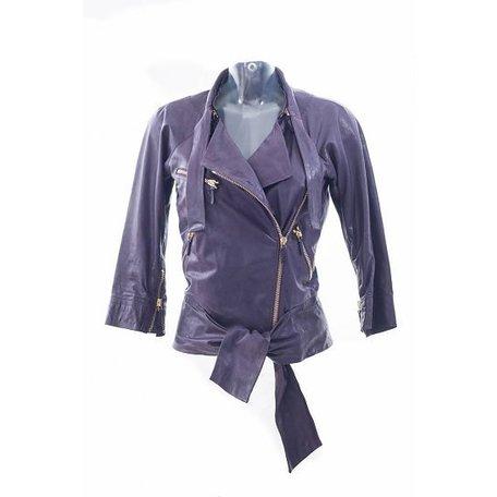 Gucci, Purple biker jacket, size XS