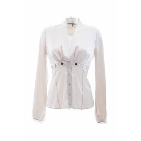 Champagne blouse, maat S