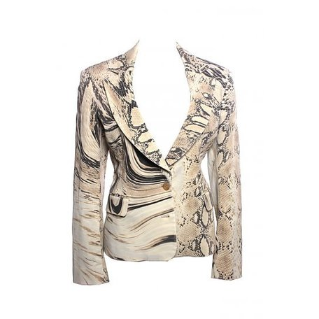 Just Cavalli, Slangenprint blazer, maat XL