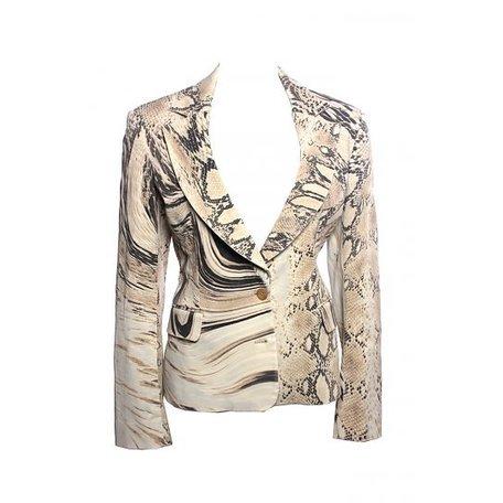 Just Cavalli, Snake print blazer, size XL