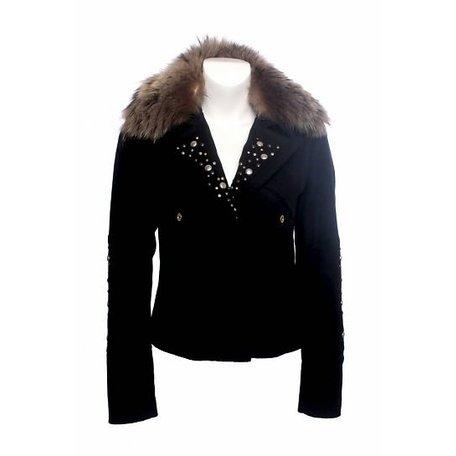 Pinko, Black jacket, size L