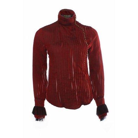 Roberto Cavalli, Red shirt, size XS
