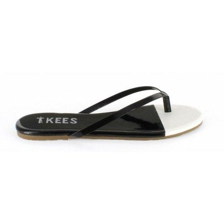 Tkees, zwart / wit