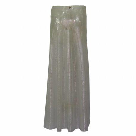 Skirt silver Metallic Mesh