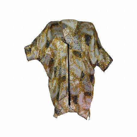 Short chain kimono