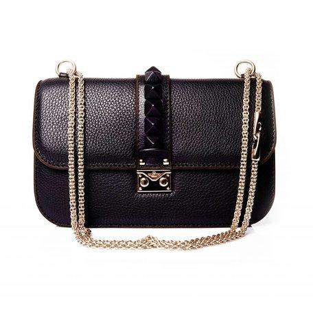 Valentino, Garvani zwarte glam lock tas