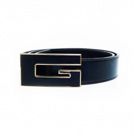 Gucci riem zwart met zwarte G