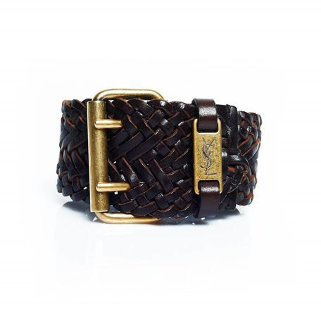 Yves Saint Laurent braided bracelet