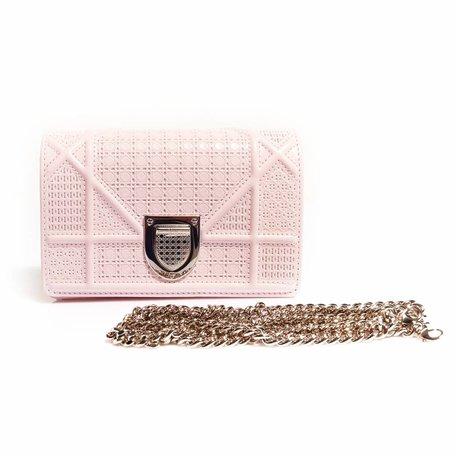 Diorama, mini flap baby pink